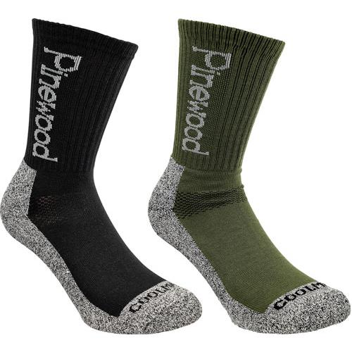 9212 - Pinewood kurze Socke Coolmax®, 2-Pack