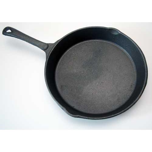 Gusspfanne, rund, 25,4 cm