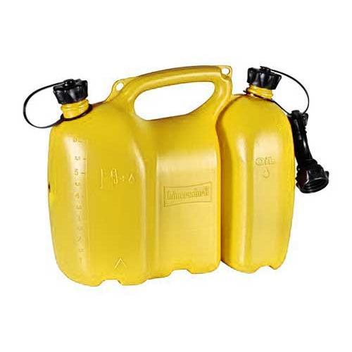 Oregon Kombi-Kanister 562406 transparent f/ür 6/l Kraftstoff und 3/l /Öl