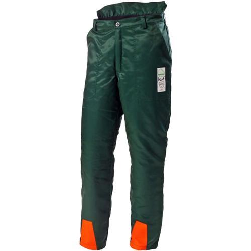 Forstschutz-Bundhose grün, Schnittschutzklasse 1 Typ A