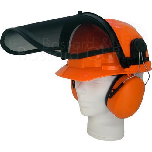 Forsthelmkombination, orange  Pic:1