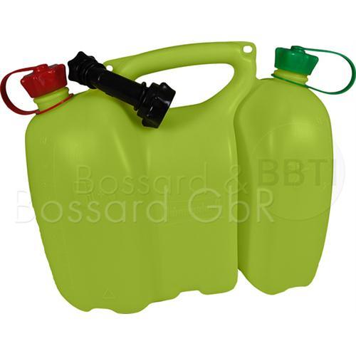 949000034 - Profi-Kombikanister 3,5+1,5 Liter gelb, inkl. Ausgiesser