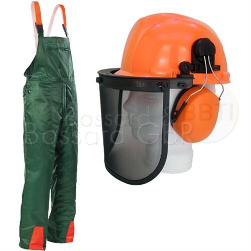 2-teiliges Forstschutzset Hose & Helm