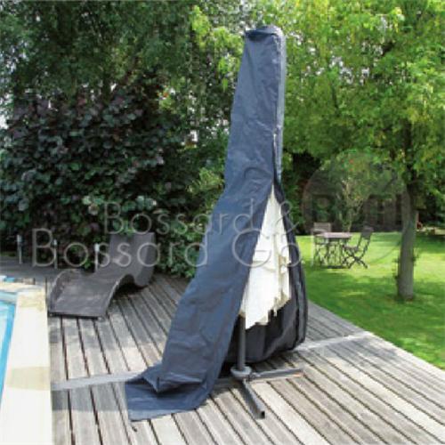 6030617 - Schutzhülle für Sonnenschirm, grau Ø 25/70 x 302 cm