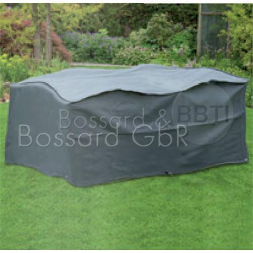 6030632 NATURE Premium Schutzhülle für Gartentisch 225 x 143 x 90 cm, rechteckigeckig, grau, 240 g/m²