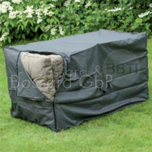 6030648 NATURE Premium Schutzhülle für Sitzkissen 150 x 75 x 75 cm, grau, 240 g/m²