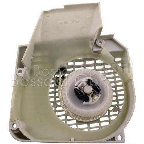 Lüftergehäuse mit Anwervorrichtung - ersetzt STIHL 1123 080 2104 Pic:1