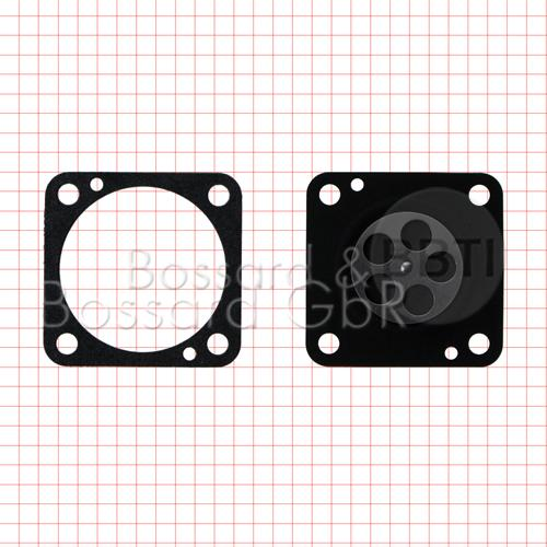 Membran- & Dichtsatz - für WACKER-Vergaser Bing 33  Pic:2