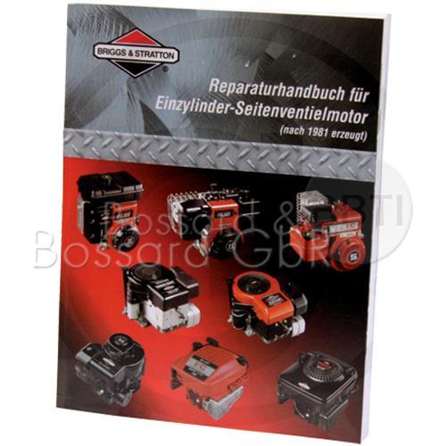271266 - original B&S Reparaturhandbuch für Einzylindermotoren, seitengesteuert