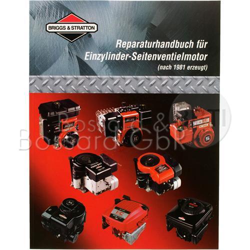 271266 - Briggs & Stratton Reparaturhandbuch für Einzylindermotoren, seitengesteuert