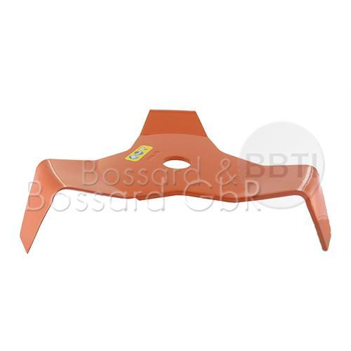 3-Zahn Mulch-/Dickichtmesser 300 x 25,4 x 4 mm