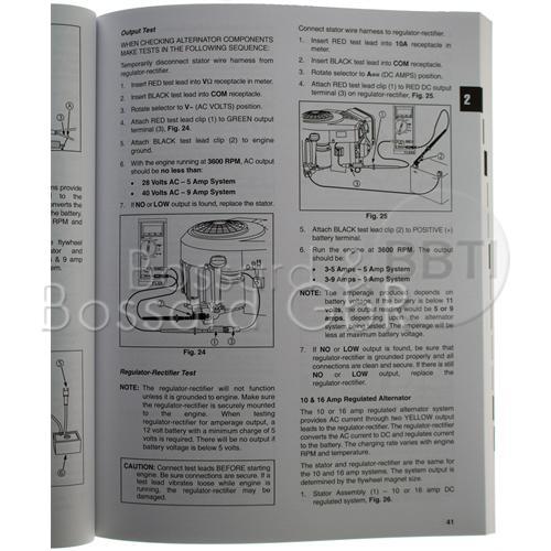 272144 - Briggs & Stratton Reparaturhandbuch, englisch Pic:1