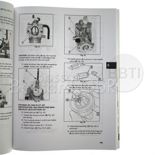 272147 - Briggs & Stratton Reparaturhandbuch, englisch Pic:1