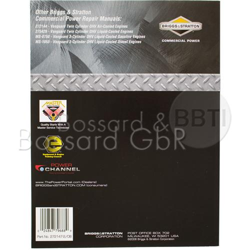 272147 - Briggs & Stratton Reparaturhandbuch, englisch Pic:2