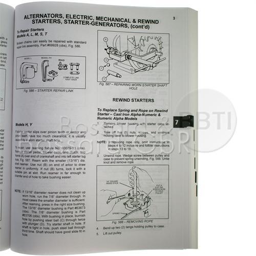 CE8069 - Briggs & Stratton Reparaturhandbuch, englisch Pic:1