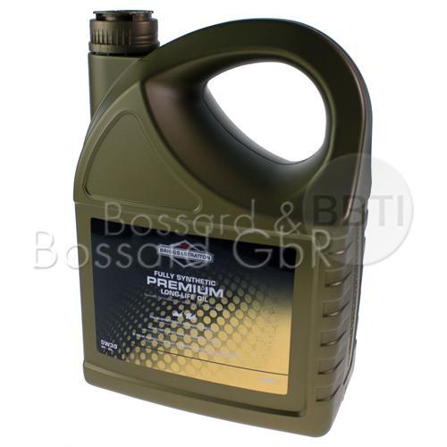 100009S - B&S Motorenöl 5,0 Liter 5W30 API SN Premium LL