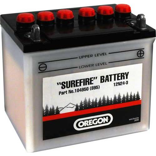 104950 - Oregon Batterie 12V, 24Ah, RH