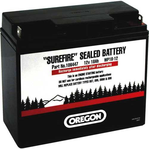 106447 - OREGON Gel-Batterie 12V 18Ah RH+ 18-12