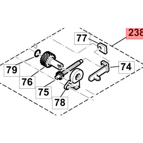 195213300 - Kettenspanner, kpl.