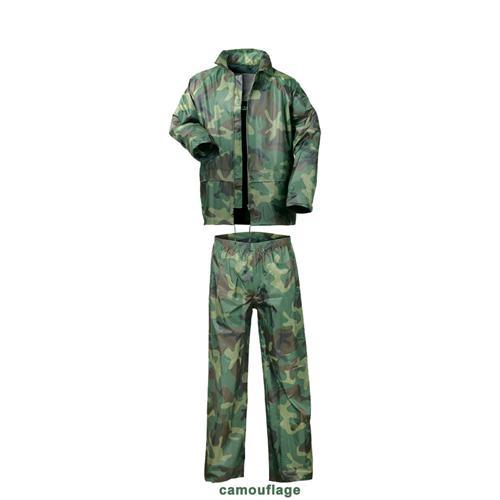 Regenanzug: gelb, oliv, blau, marine o. camouflage  Pic:1