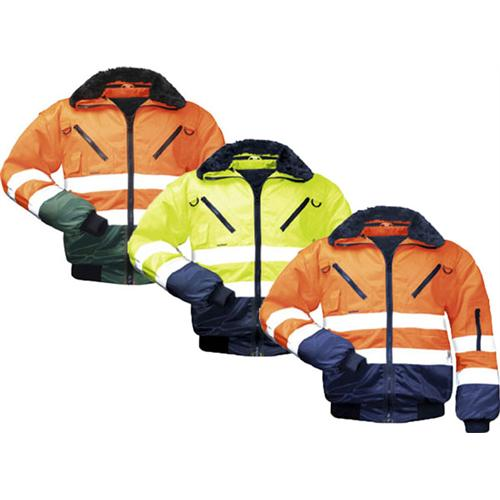 Norway-Warnschutz-Pilotjacke 4-in-1