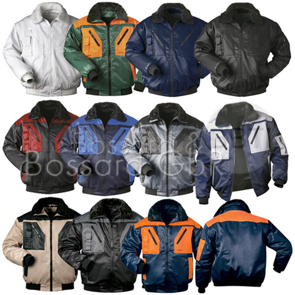 Norway-Pilotjacke 4-in-1 Arbeitsjacke