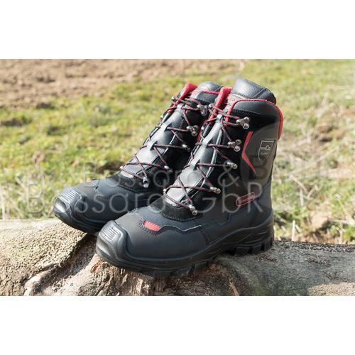 """295449 - OREGON Schnittschutz Lederstiefel """"Yukon""""  Pic:1"""