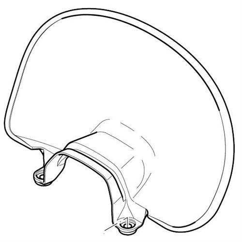 342213010 - DOLMAR Handschutz transparent