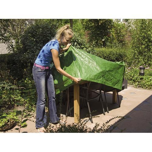 5013400 - Schutzhülle für Gartentische rund, Ø 325 x 90 cm