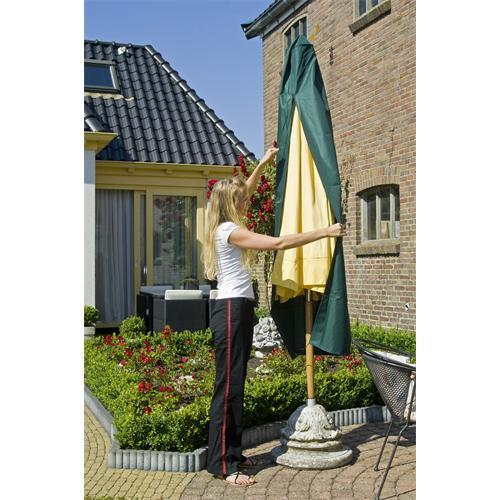 5013468 - Schutzhülle für Sonnenschirm Ø 27/42 x 202 cm, grün, PALERMO