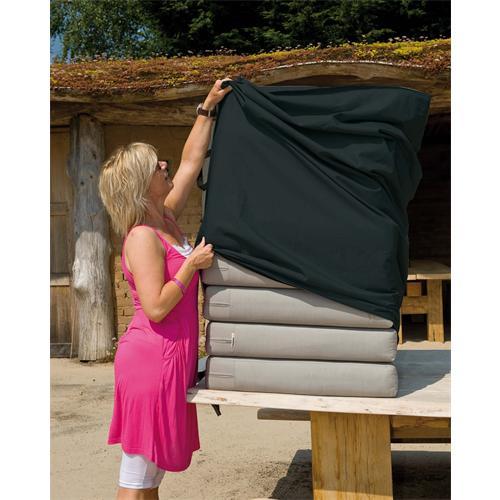 5013463 - Schutzhülle für Sitzkissen 150 x 75 x 75 cm, grau, PALERMO