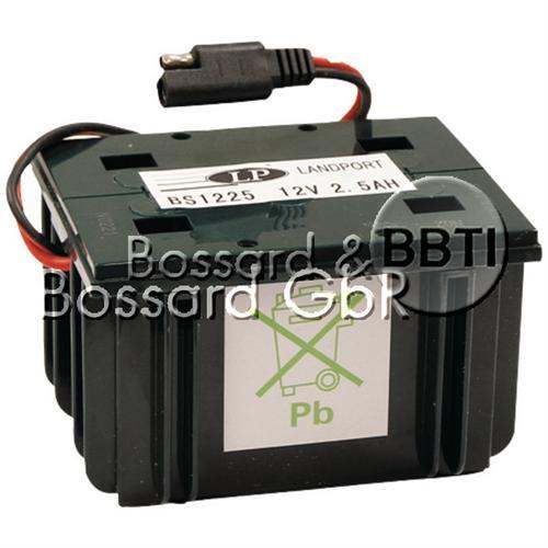Starterbatterie 12V 2,5 A für Handrasenmäher
