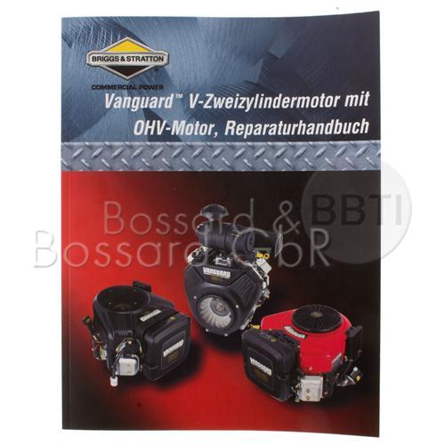 805611 - Briggs & Stratton Reparaturhandbuch für Zweizylindermotoren, Vanguard OHV