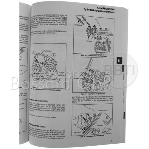 805611 - Briggs & Stratton Reparaturhandbuch für Zweizylindermotoren, Vanguard OHV Pic:1