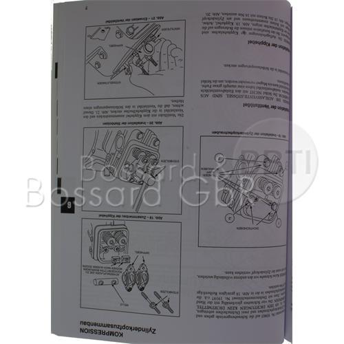 805611 - Briggs & Stratton Reparaturhandbuch für Zweizylindermotoren, Vanguard OHV Pic:2