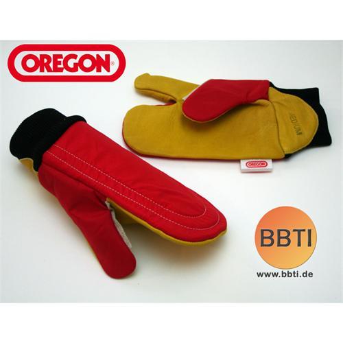 OREGON Schnittschutz-Handschuhe (Leder)
