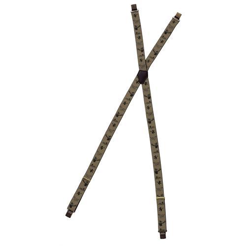 9098 - Pinewood Hosenträger mit Metallclips