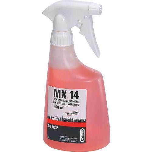 O91-9320 - OREGON MX14 Universalreiniger 500 ml  Sprühflasche