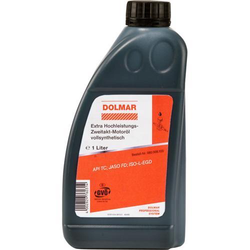 980008103 - orig. DOLMAR Zweitaktöl 100:1 vollsynthetisch, 1 Liter