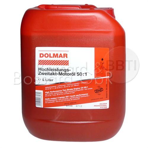 980008118 - orig. DOLMAR Zweitaktöl 50:1 5 Liter Kanister