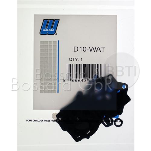 D10-WAT - WALBRO Membran- & Dichtsatz  Pic:3