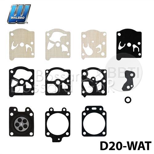 D20-WAT - WALBRO Membran- & Dichtsatz