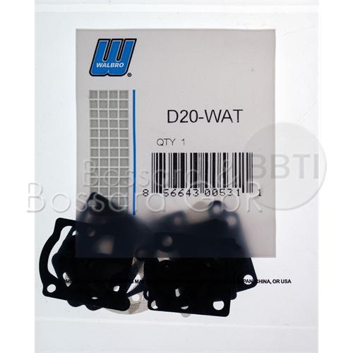 D20-WAT - WALBRO Membran- & Dichtsatz  Pic:3