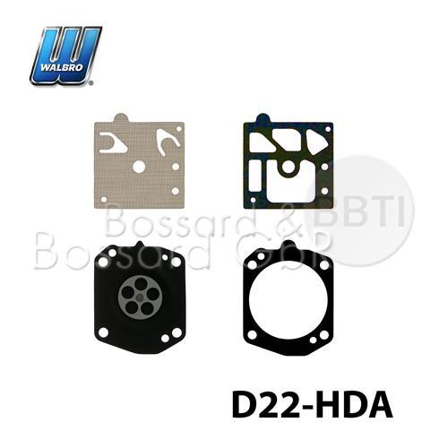D22-HDA - original WALBRO  Membran- & Dichtsatz
