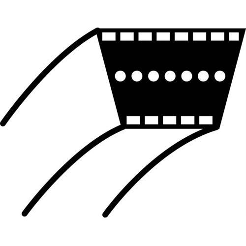 OREGON Mähdeck-Antriebsriemen für JOHN DEERE