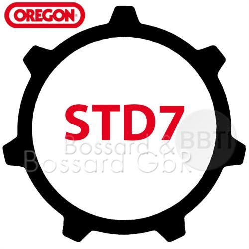 """119224070 - Zahnkranz 3/8"""" Z=7 STD7  Pic:1"""