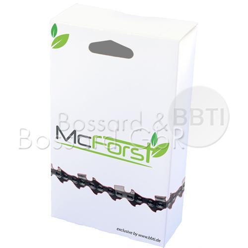 """McForst Vollmeissel-Sägekette<br/> 3/8"""" 1,5 mm 72 TG"""