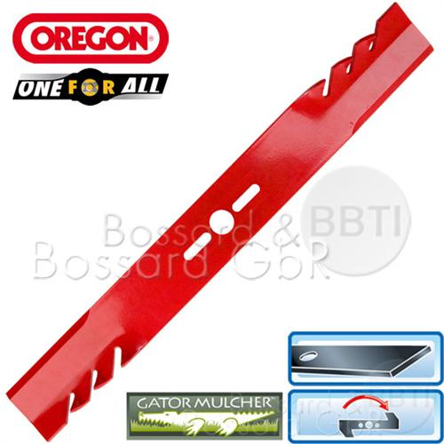 69-241-0 OREGON ONE-FOR-ALL-Mulchmesser 43 cm MTD, Universal, gerade