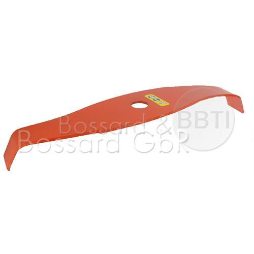 2-Zahn Mulch-/Dickichtmesser S-Form 315x25,4x4 mm