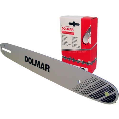 """DOLMAR Schienen-Ketten-Set 35 cm 3/8"""" 1.3 mm"""